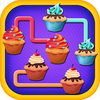 eTrain Mobile Games LLC - Aah!! Yummy Crazy Cupcake Cookie Match 3 Puzzle Free  artwork